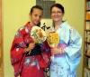 Tea bemutató és yukata öltöztetés